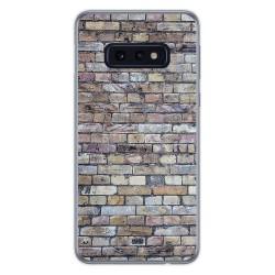 Funda Gel Tpu para Samsung Galaxy S10e diseño Ladrillo 02 Dibujos