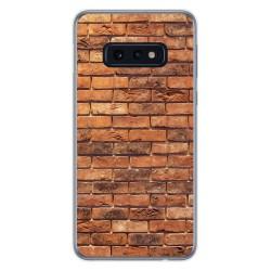 Funda Gel Tpu para Samsung Galaxy S10e diseño Ladrillo 04 Dibujos