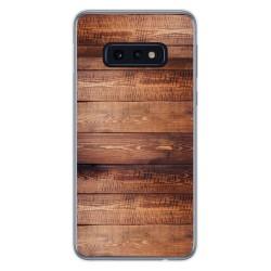 Funda Gel Tpu para Samsung Galaxy S10e diseño Madera 02 Dibujos
