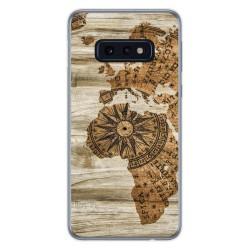 Funda Gel Tpu para Samsung Galaxy S10e diseño Madera 07 Dibujos