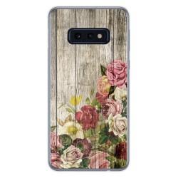 Funda Gel Tpu para Samsung Galaxy S10e diseño Madera 08 Dibujos