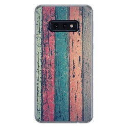Funda Gel Tpu para Samsung Galaxy S10e diseño Madera 10 Dibujos