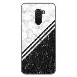 Funda Gel Tpu para Xiaomi Pocophone F1 diseño Mármol 01 Dibujos