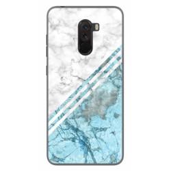 Funda Gel Tpu para Xiaomi Pocophone F1 diseño Mármol 02 Dibujos