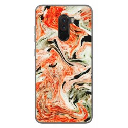 Funda Gel Tpu para Xiaomi Pocophone F1 diseño Mármol 12 Dibujos