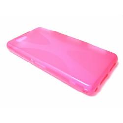 Funda Gel Tpu Sony Xperia Z1 Compact X Line Color Rosa