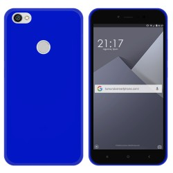 Funda Gel Tpu para Xiaomi Redmi Note 5A Pro / 5A Prime Color Azul