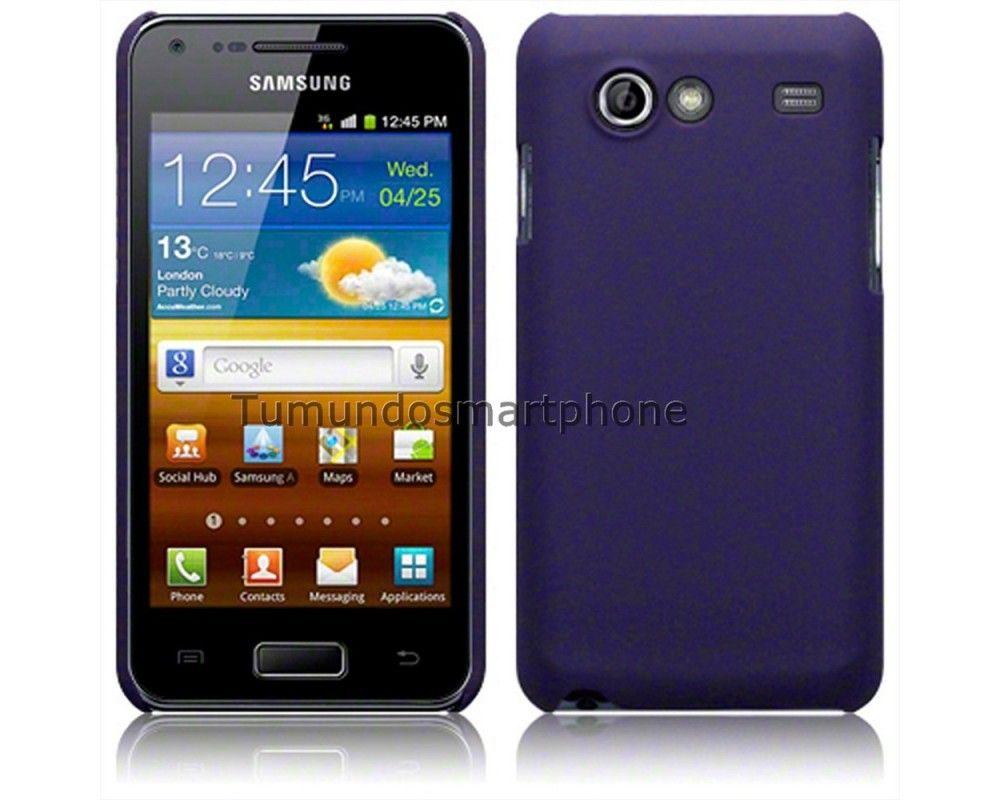 ccbda99b586 Precio reducido Carcasa Funda Dura Samsung Galaxy S Advance I9070 Color  Morada
