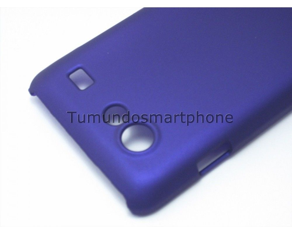 Carcasa Funda Dura Samsung Galaxy S Advance I9070 Color Morada