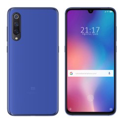 Funda Gel Tpu para Xiaomi Mi 9 Color Azul