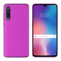 Funda Gel TPU para Xiaomi Mi 9 Color Rosa