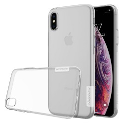 Funda Gel TPU Nillkin Nature para iPhone X/XS Color Transparente
