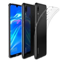 Funda Gel Tpu Fina Ultra-Thin 0,5mm Transparente para Huawei Y7 2019