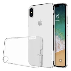 Funda Gel Tpu Nillkin Nature para Iphone Xs Max color Transparente