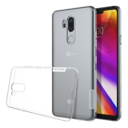 Funda Gel Tpu Nillkin Nature para Lg G7 Thinq color Transparente