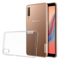 Funda Gel Tpu Nillkin Nature para Samsung Galaxy A7 (2018) color Transparente