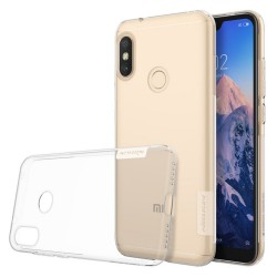 Funda Gel Tpu Nillkin Nature para Xiaomi Redmi Note 6 Pro color Transparente
