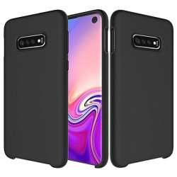 Funda Silicona Líquida Ultra Suave para Samsung Galaxy S10e color Negra