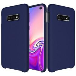 Funda Silicona Líquida Ultra Suave para Samsung Galaxy S10e color Azul oscura