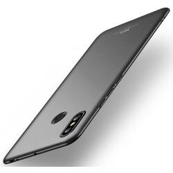 Carcasa Funda Dura Completa marca MSVII para Xiaomi Mi Max 3 color Negra