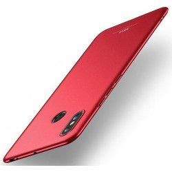 Carcasa Funda Dura Completa marca MSVII para Xiaomi Mi Max 3 color Roja