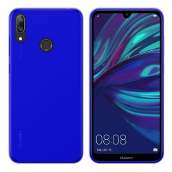 Funda Gel Tpu para Huawei Y7 2019 Color Azul
