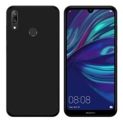 Funda Gel Tpu para Huawei Y7 2019 Color Negra