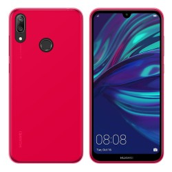 Funda Gel Tpu para Huawei Y7 2019 Color Rosa