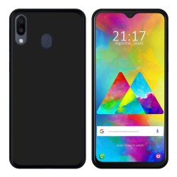 Funda Gel Tpu para Samsung Galaxy M20 Color Negra