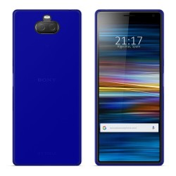 Funda Gel Tpu para Sony Xperia 10 Plus Color Azul