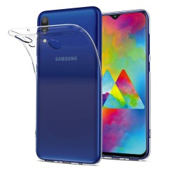 Funda Gel Tpu Fina Ultra-Thin 0,5mm Transparente para Samsung Galaxy M20