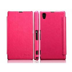 Funda Flip Piel Rosa / Fucsia Kalaideng Enland para Sony Xperia Z1 L39H