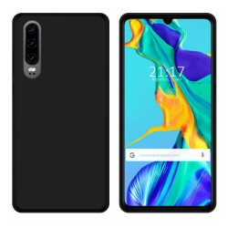 Funda Gel Tpu para Huawei P30 Color Negra