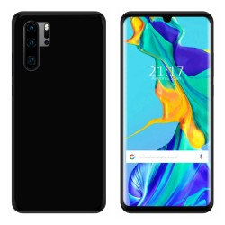 Funda Gel Tpu para Huawei P30 Pro Color Negra