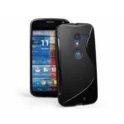 Funda Gel Tpu Motorola Moto X S Line Color Negra