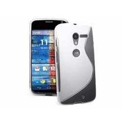 Funda Gel Tpu Motorola Moto X S Line Color Transparente
