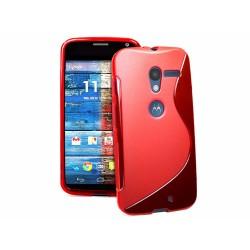 Funda Gel Tpu Motorola Moto X S Line Color Roja