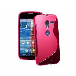 Funda Gel Tpu Motorola Moto X S Line Color Rosa