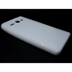 Funda Gel Tpu Huawei Ascend Y530 S Line Color Blanca