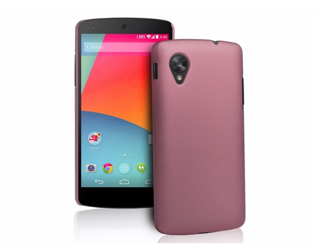 Carcasa Dura Lg Google Nexus 5 Color Rosa