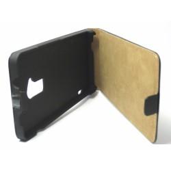 Funda Piel Premium Ultra-Slim HTC One Max Negra