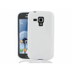 Funda Gel Tpu Samsung Galaxy S Duos S7562  S Line Color Blanca