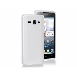 Funda Gel Tpu Lisa Huawei Ascend Y530 Color Blanca