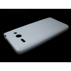 Funda Gel Tpu Lisa Huawei Ascend Y530 Color Blanca