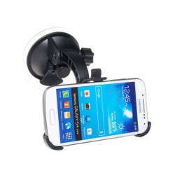 Soporte Coche 360º para Samsung Galaxy S4 Mini I9190 / I9195 Car Holder