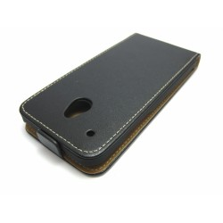 Funda Piel Premium Ultra-Slim HTC One Mini (M4) Negra