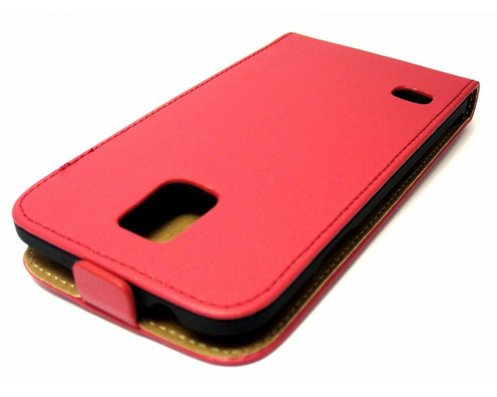 Funda Piel Premium Ultra-Slim Samsung Galaxy S5 / S5 Neo Roja