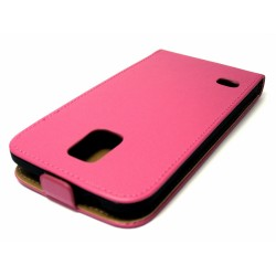 Funda Piel Premium Ultra-Slim Samsung Galaxy S5 / S5 Neo Rosa