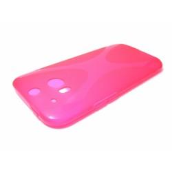 Funda Gel Tpu HTC One 2 (M8) X Line Color Rosa