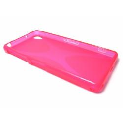 Funda Gel Tpu Sony Xperia Z2 Modelo X Line Color Rosa